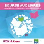 G.Monplaisir Bourse aux Livres bannière Facebook 500x500px