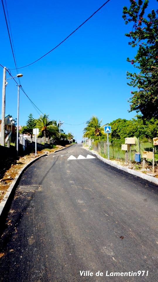 Réfection de la route de Germillac. Année 2017