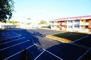 Réhabilitation de l'ancien logement des Maitres et création de parking. Année 2017