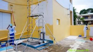 Rénovation de l'Ecole de Castel. Aout 2018