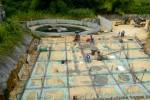 Construction du Centre Thermo Ludique de Ravine Chaude. Année 2015