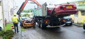 Enlèvement des véhicules hors d'usage