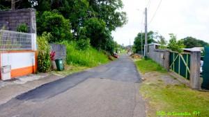 Réfection de la route de Boisbert. Année 2018