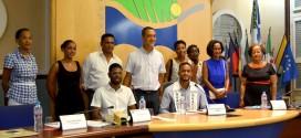 Nicolas MORVAN fraîchement élu Mister Guadeloupe 2019