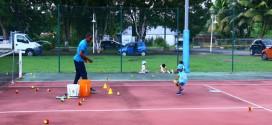 Il est possible de pratiquer l'initiation au tennis dès le plus jeune âge au Tennis Club Lamentinois