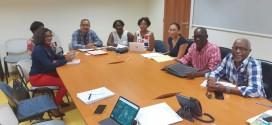 Reunion de travail au Rectorat de Guadeloupe sur le dossier du nouveau Groupe Scolaire de Caillou