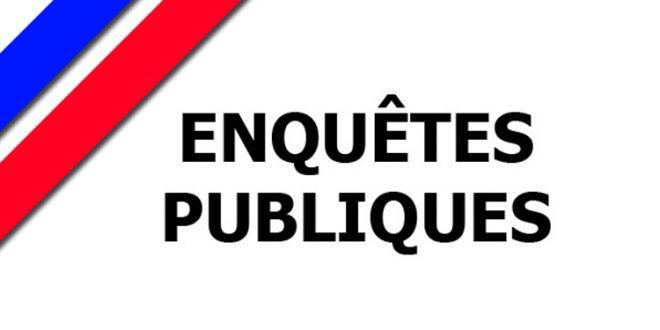 Avis d'enquête publique relative au projet de modification du PLU