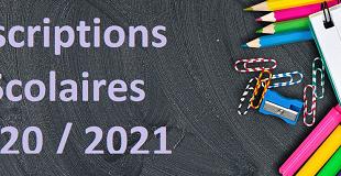 FORMULAIRE D'INSCRIPTION SCOLAIRE ELEMENTAIRE DE CP CM2 ANNEE 2021 / 2022